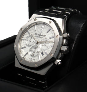 Audemars Piguet Royal Oak Chronograph 41mm White 26320st.oo.1220st.02 BOX/PAPERS
