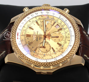 Breitling For Bentley Motors LIMITED EDITION Chronograph H25362 18K Rose Gold