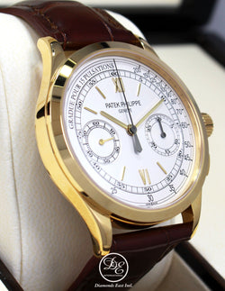 Patek Philippe Complications Chronograph 5170J 18K Yellow Gold *NEW BOX/PAPER