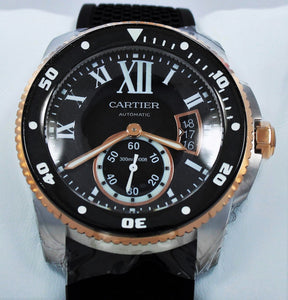 Cartier Calibre De Cartier Diver W7100055 42mm Automatic 18K Rose Gold