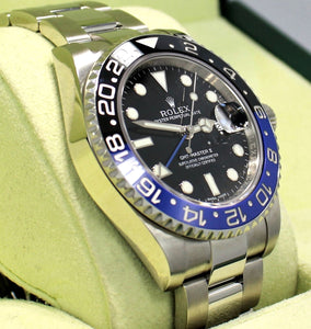 Rolex Oyster Perpetual GMT-Master II 116710 BLNR BATMAN BOX/PAPERS