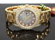 Rolex Masterpiece Pearlmaster 81158 Crown 34mm 18K Yellow Gold ALL FACTORY DIAMONDS BOX/PAPERS