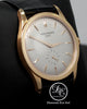 Patek Philippe Calatrava 5196R 37mm 18K Rose Gold Gray Dial Manual Watch BOX/PAPERS