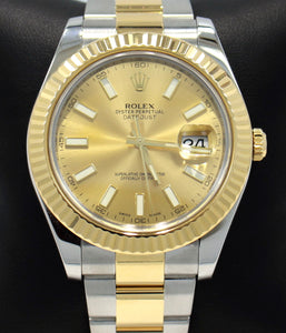 Rolex Oyster Perpetual Datejust 41 116333 GLDSO