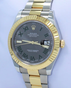 Rolex Oyster Perpetual Datejust 41 116333 GRYRFJ