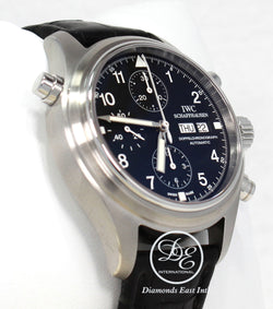 IWC Spitfire Pilot's IW3713 42mm Doppelchronograph Day-Date
