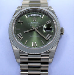 Rolex Oyster Perpetual Day-Date 40 228239 GRNRP (Unworn)