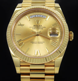 Rolex Oyster Perpetual Day-Date 40 228238 CHPRP UNWORN