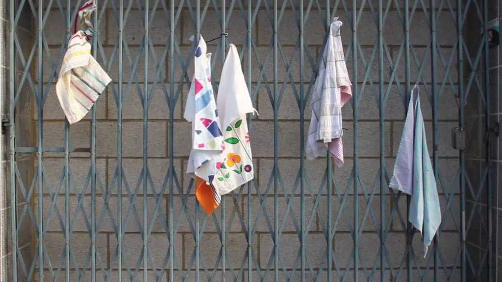 Magnetic Kitchen Towel The new easy way to hang kitchen towels * No more hooks, no drilling, and no damage * sticks to any metal surface, such as a ...