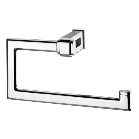Sonia NAKAR Wall Mounted Open Towel Ring Holder Bath Hand Towel Holder, Brass