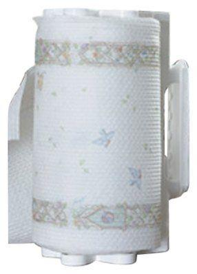 Camco 57111 Pop-A-Towel White Paper Towel Holder