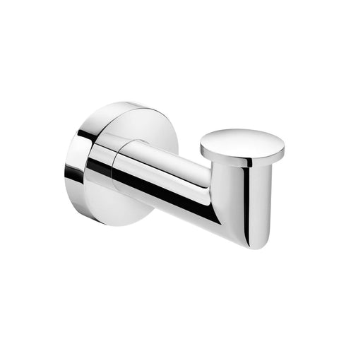 Pomdor Kubic Wall Towel Robe Hook Hanger for Bathroom Towel Holder Chrome