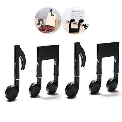 Clips Decorative Clips Book Stand Page Holder Music Teacher Gift Mark Photo Binder Clip Clothespin Hanger Icefire Arts Literary Gifts File Archival Clamp Sealing Clips Sealer 4 Sets