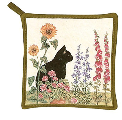 Alice's Cottage AC2114 Black Cat Pot Holder