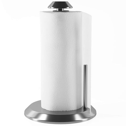 Home Intuition Stainless Steel Paper Towel Holder with Easy Tear