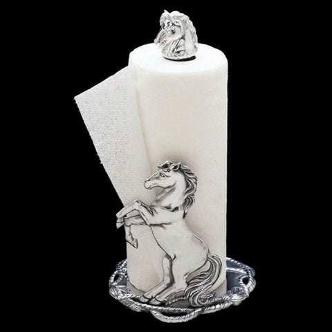 Arthur Court Horse 14-1/2-Inch Paper Towel Holder