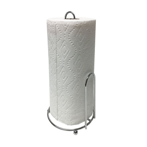 Chrome Wire Paper Towel Holder, Rust Resistant