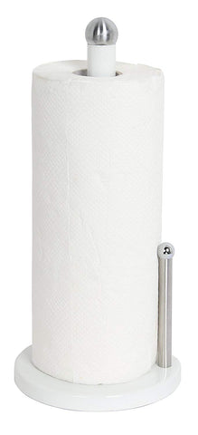 Home Basics Paper Towel Holder (White)