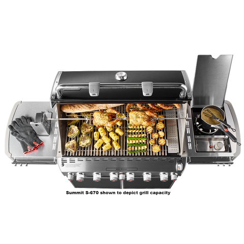 Summit Grill Center Stainless Steel