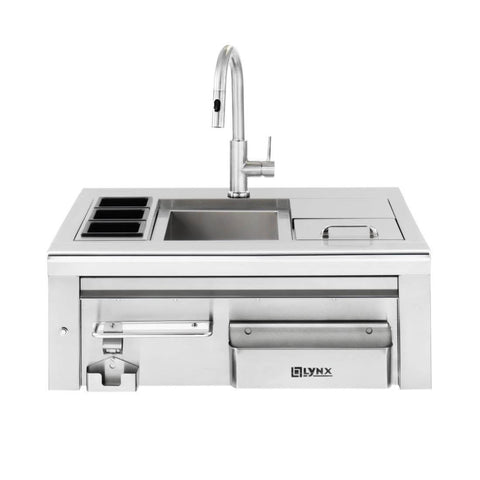"30"" Cocktail Pro Sink with Ice Bin & Faucet"