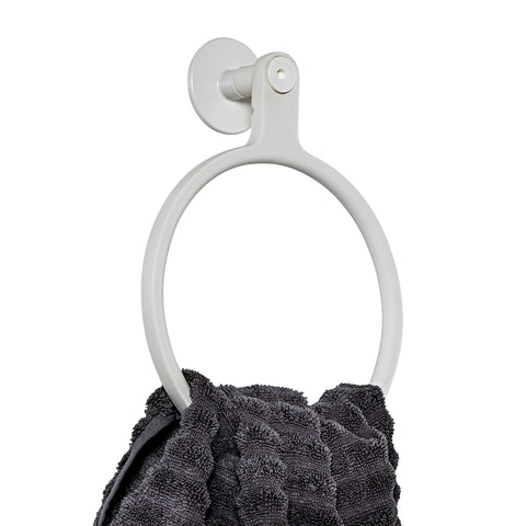Sabi Towel Holder, White