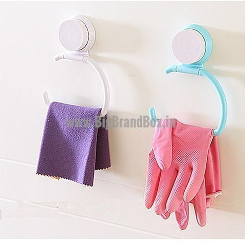 Vacuum Suction Cup Towel Holder