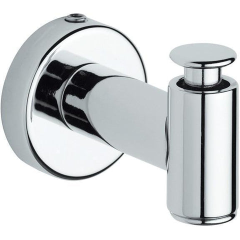 BA Tecno Wall Towel Robe Hook Hanger for Bath Towel Holder - Brass Chrome
