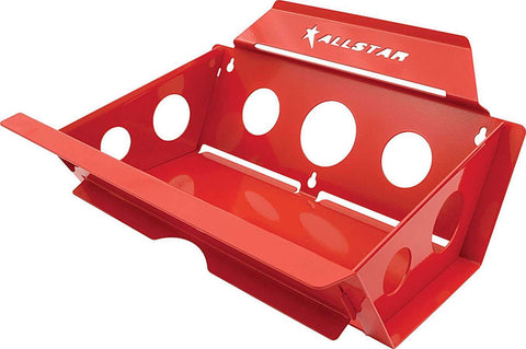 ALLSTAR PERFORMANCE ALL12241 Shop Towel Holder Roll Style Red