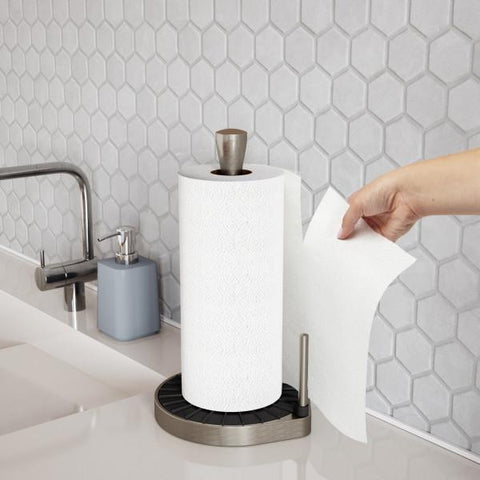Spin Click & Tear Paper Towel Holder
