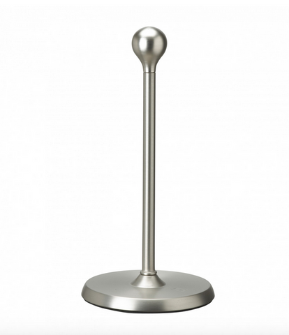 Teardrop Paper Towel Holder, Nickel