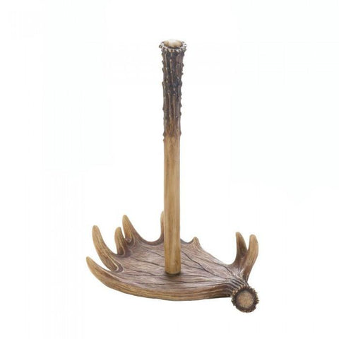 Accent Plus 10017741 Moose Antler Paper Towel Holder