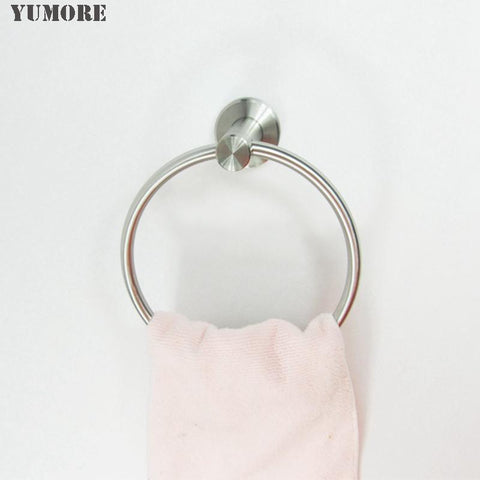 1Pcs/Lot Stainless Steel Towel RingTowel Holder Towel Bar Bathroom Accessories W/ Best Quality