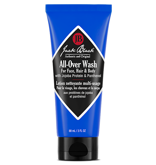 All-Over Wash for Face, Hair & Body with Jojoba Protein & Panthenol