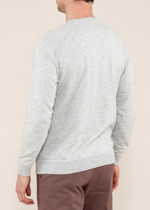 BICKFORD COTTON CASHMERE SWEATSHIRT - DOVE