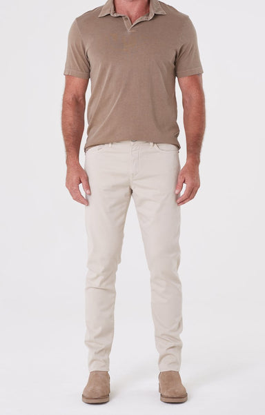 LONDON TAPERED SLIM FIT TWILL - WASHED DUNE