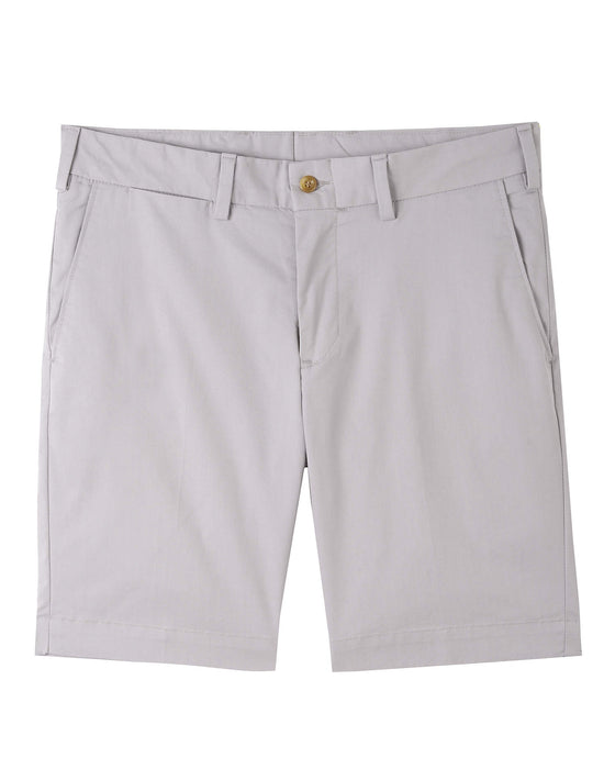 M3S - STRAIGHT FIT - TRAVEL TWILL SHORT - NICKEL
