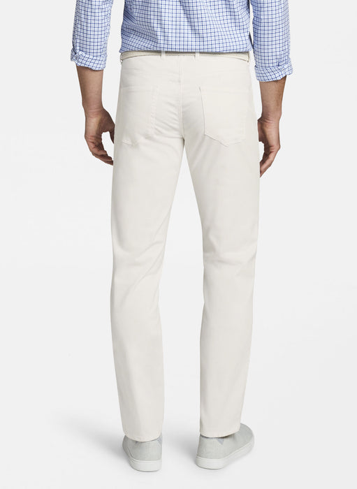 Ultimate Sateen Five-Pocket Pant - IVORY