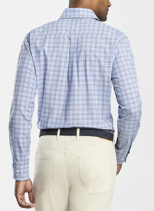 Crown Finish Stretch Bernard Glen Sport Shirt