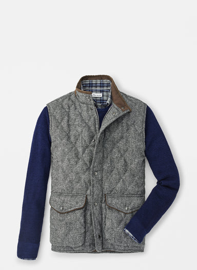Delta Donegal Tweed Vest