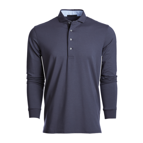APACHE LONG SLEEVE POLO