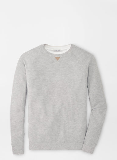 Crown Soft Honeycomb Crewneck Sweater