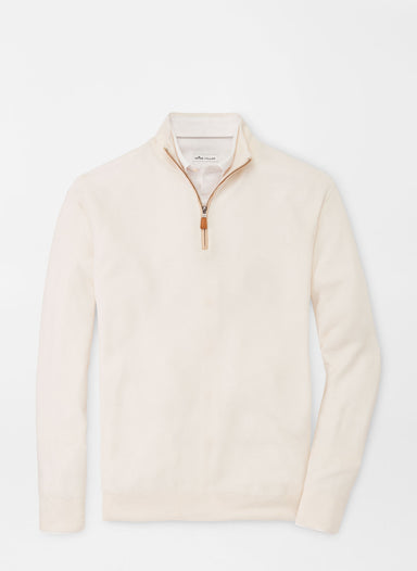 Crown Soft Honeycomb Quarter-Zip Sweater