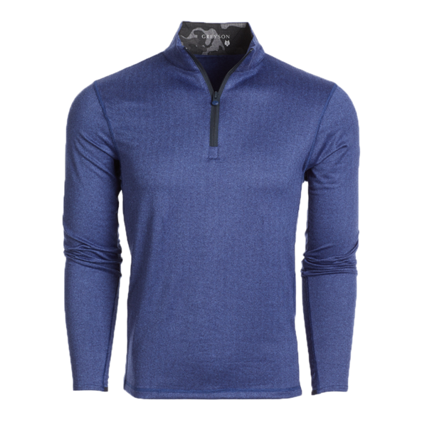 Tate 1/4 Zip Printed