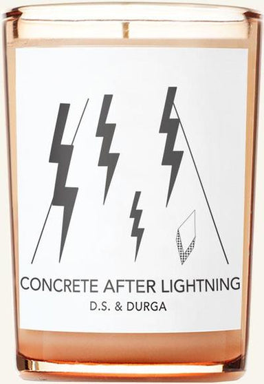 DS Durga Concrete After Lightening Candle