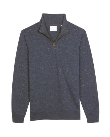 Donegal Half Zip-Navy