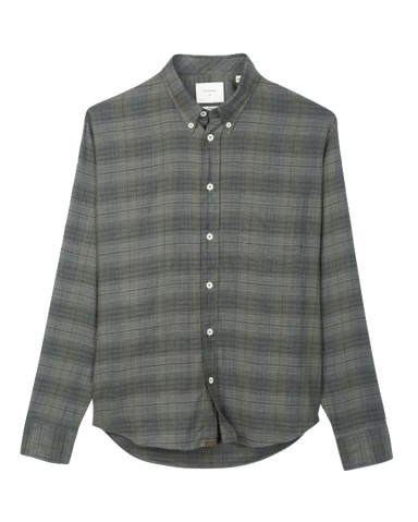 Tuscumbia Button Down Shirt-Grey