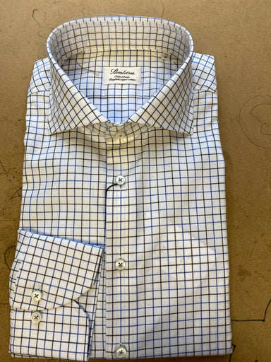 Green/Blue Check Dress Shirt