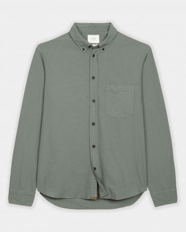 Tuscumbia Button Down Shirt-Sage