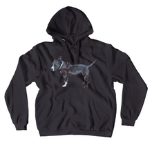 Load image into Gallery viewer, Pitbull Unisex Hoodie Katie J Dog Caitlin