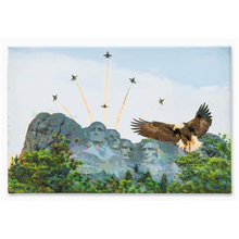 Load image into Gallery viewer, Blue Angels Canvas Print Americana Wall Art